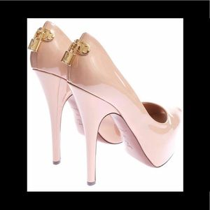 pink louis vuitton heels